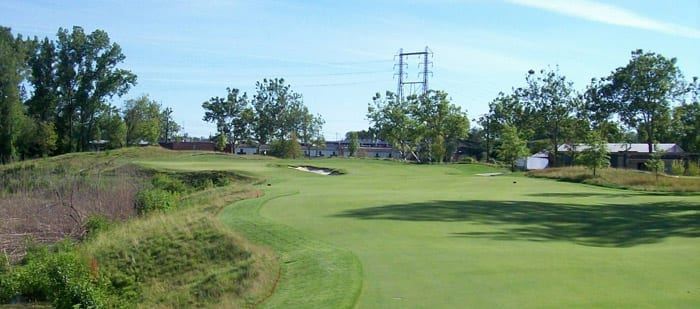 16th Hole - The Golf Club at Harbor Shores