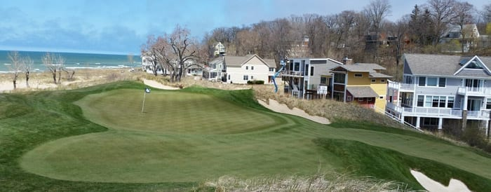 7th Hole - The Golf Club at Harbor Shores