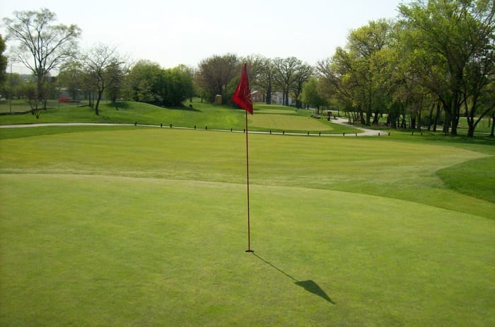 Flagg Creek Golf Course - 6th Hole