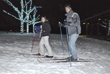 sportsman's x-country skiing